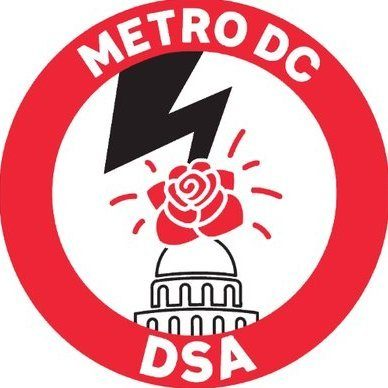 Metro Dc Dsa Logo Cropped Metro Dc Democratic Socialists Of America